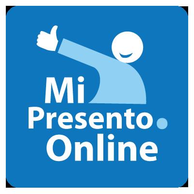 Logo di Mi Presento online progetto sul personal branding
